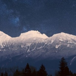 Mt. Cheam Range In Snow