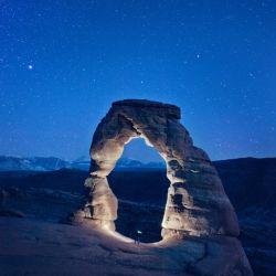 Delicate Arch Night