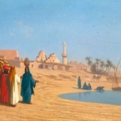 Conversation on the banks of the Nile