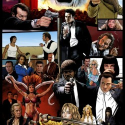 The Tarantinoverse - Pulp Fiction Reservoir Dogs Django Unchained Kill Bill & More