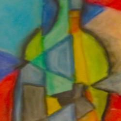 Cubist Bottle