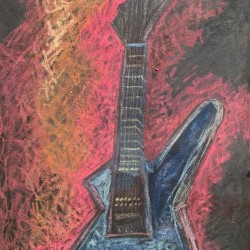 Rock This Metallica Tribute Guitar