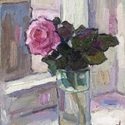 Rose in the Glass