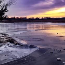 A Violet Sunset