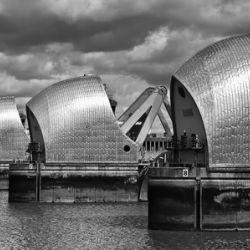 Thames Barrier, London, UK