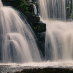 Waterfalls in Penllergare woods