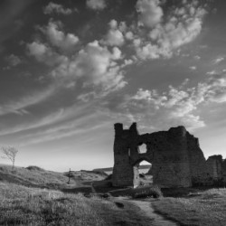 Pennard castle Gower