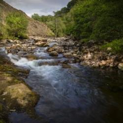 The Afon Twrch at Cwmllynfell