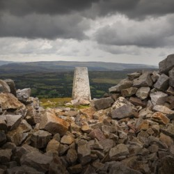 The Sleeping Giants trig point