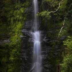 The tallest waterfall at Blaen y Glyn