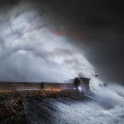 Hurricane Ophelia at Porthcawl