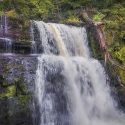 The waterfall Sgwd Clun Gwyn