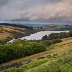 The Cray Reservoir in the Brecon Beacons National Park