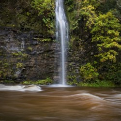 A waterfall on the river Tawe