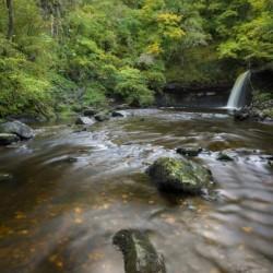 Sgwd Gwladus waterfall