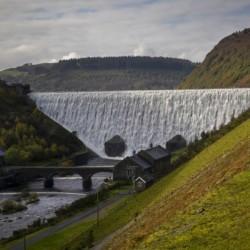 The Caban Goch reservoir