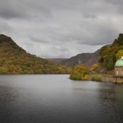The Carreg Ddu reservoir