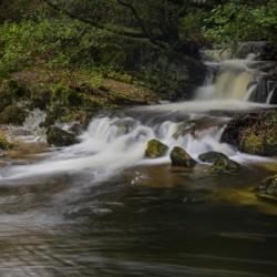 Elan river waterfall