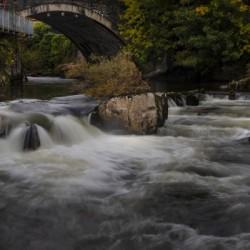 The bridge over the Elan river