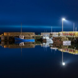 Night Time at the Wharf