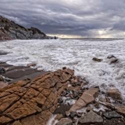 Surf at Pillar Rock