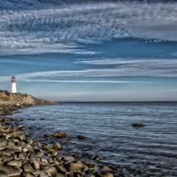 Low Point Lighthouse - Nova Scotia