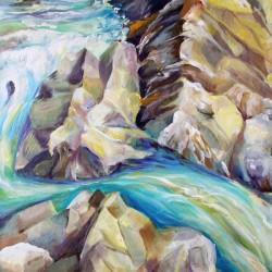 Rocky Mountains Crystel River Colorado
