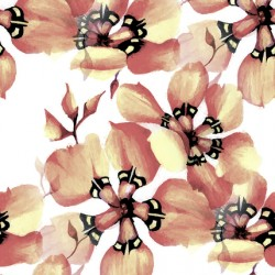 South African Flowers displate pattern a