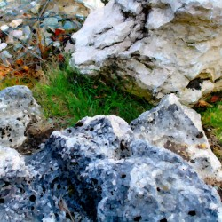 Stones Composition Stylized 2