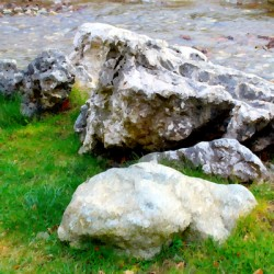 Stones Composition Stylized