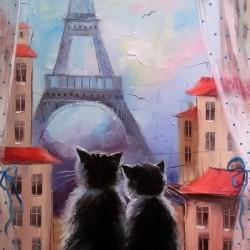 Друзя в Париже