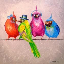Cheerful company