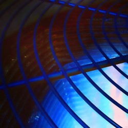 abstract blue curved lines