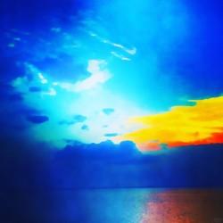 blue yellow magic