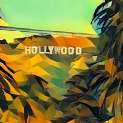 hollywood sign art