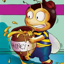 Be Careful with the Honey Buster Bee