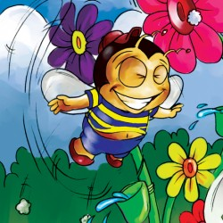 Happiness - Flower Power Buster Bee