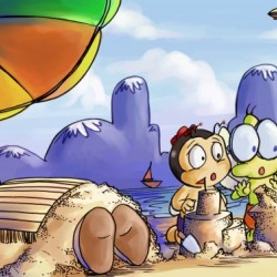 A Dream of Summer - Day at Beach - Bugville Critters