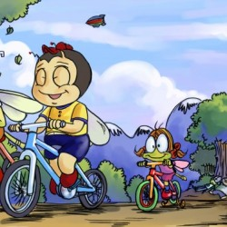 A Dream of Summer - Bikes - Bugville Critters