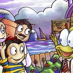 A Dream of Summer - Hello My Friend - Bugville Critters