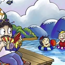 A Dream of Summer - Swim - Bugville Critters