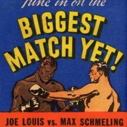 1936 Biggest Match Yet Joe Louis Fight