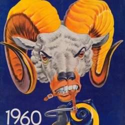 1960 Karl Hubenthal Rams Art