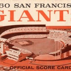1960 San Francisco Giants Candlestick Park Art