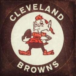 Vintage Cleveland Browns Art