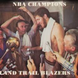 1977 Portland Trailblazers Bill Walton