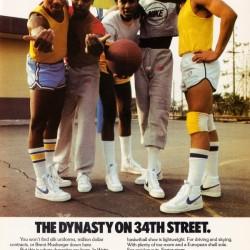 1981 Nike Ad Dynasty on 34th Street
