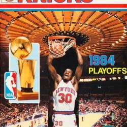 1984 New York Knicks Bernard King Poster