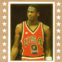 1984 USA Olympic Basketball Michael Jordan