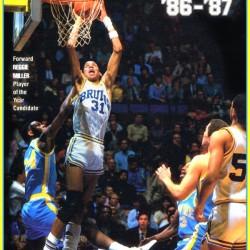 1986 UCLA Bruins Basketball Reggie Miller Poster